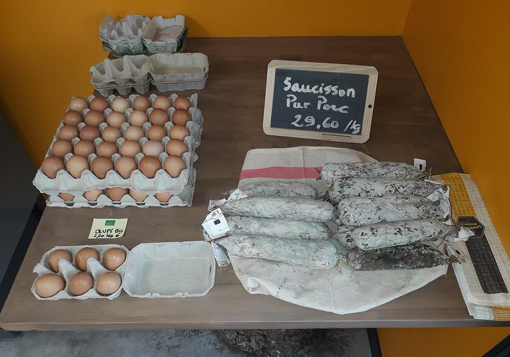 Ferme de la Mère Boitier Produits fermier Tramayes Cluny Saone-et-loire-Produit BIO 71 UCA Tramayes(1)