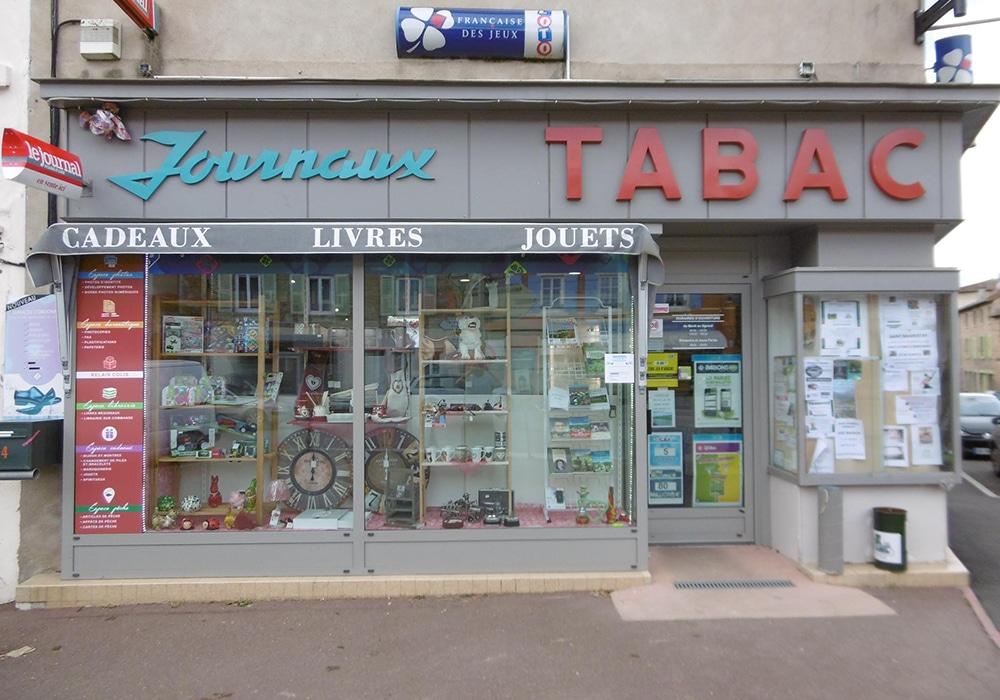 Tabac Presse Lapierre UCA Tramayes Articles de Pêche Saone et Loire Bourgogne 71