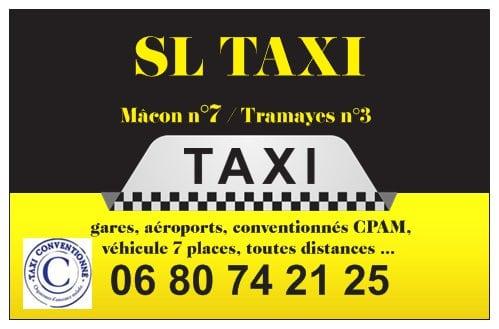 SL Taxi Macon Tramayes Saone et Loire Bourgogne 71 Cluny