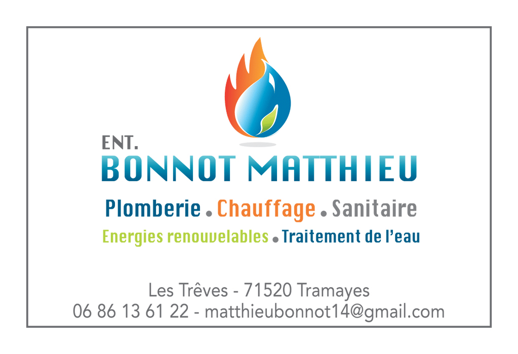 matthieu bonnot plomberie chauffage sanitaire depannage Tramayes matour cluny Saone et loire 71 copie