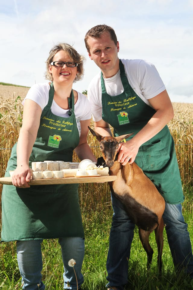 Domaine des Ballifays - Fromage de chevre au lait cru vente a la ferme UCA Tramayes